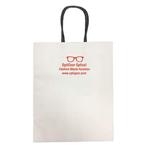 Related Product: White Kraft Paper Bag - Imprinted