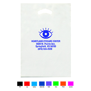 Personalized Medium White Supply Bag