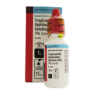Tropicamide 1% 15mL by Bausch & Lomb