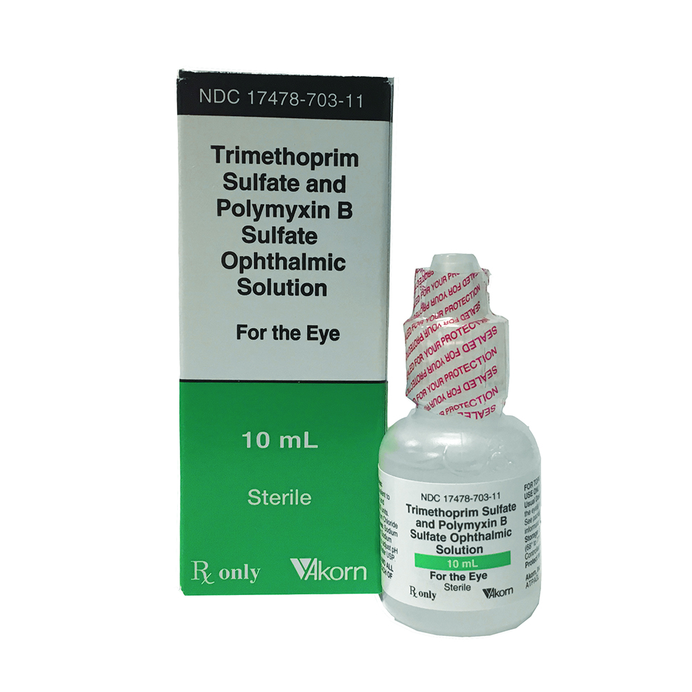 Polymyxin B Sulfate & Trimethoprim - by Akorn