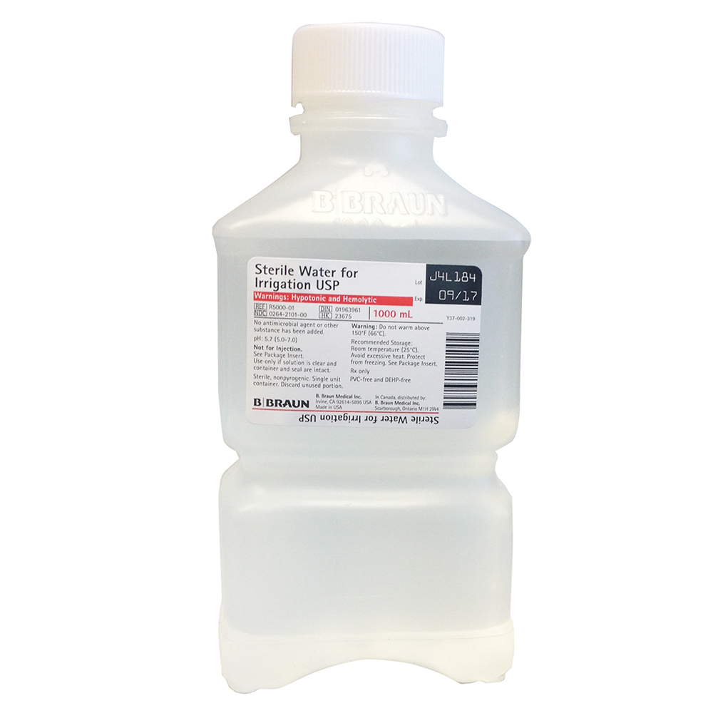 Sterile Water for Irrigation USP