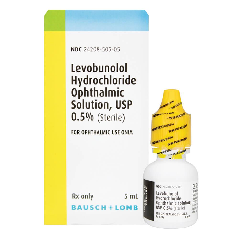 Levobunolol 0.5%
