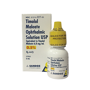Related Product: Timolol Maleate Ophthalmic Solution