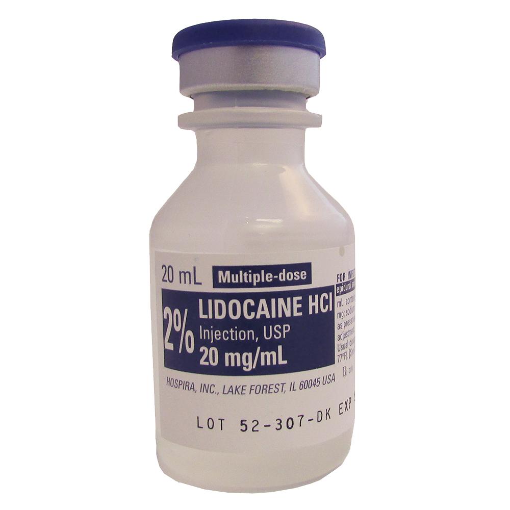 Injectable Lidocaine 2%