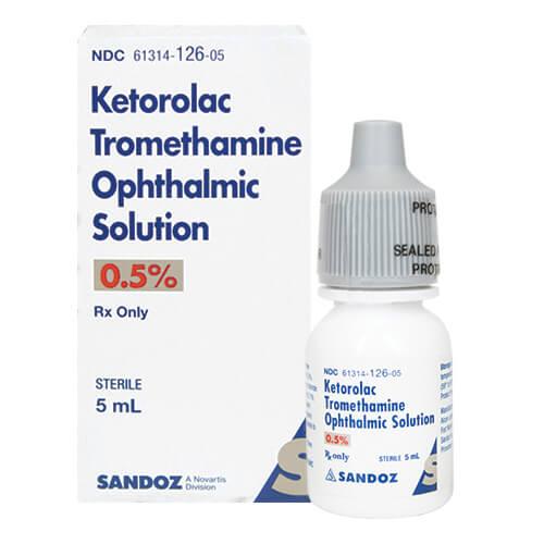 Ketorolac Tromethamine 0.5%