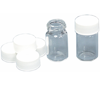 Threaded Glass Vials - Caps