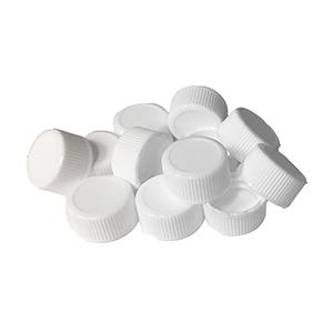 White Plastic Vial Cap