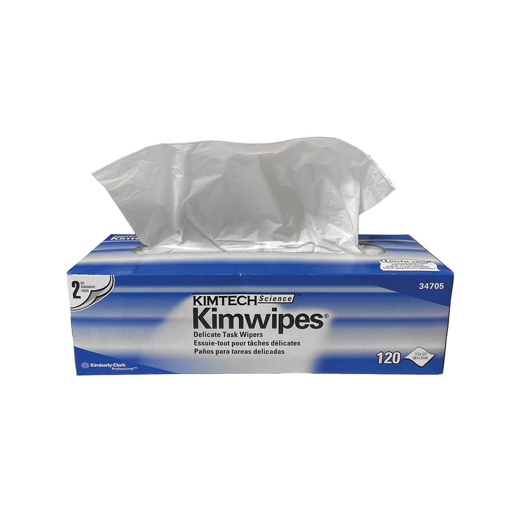 "Kimwipes® - Two Ply 12"" x 12"" By the Case"