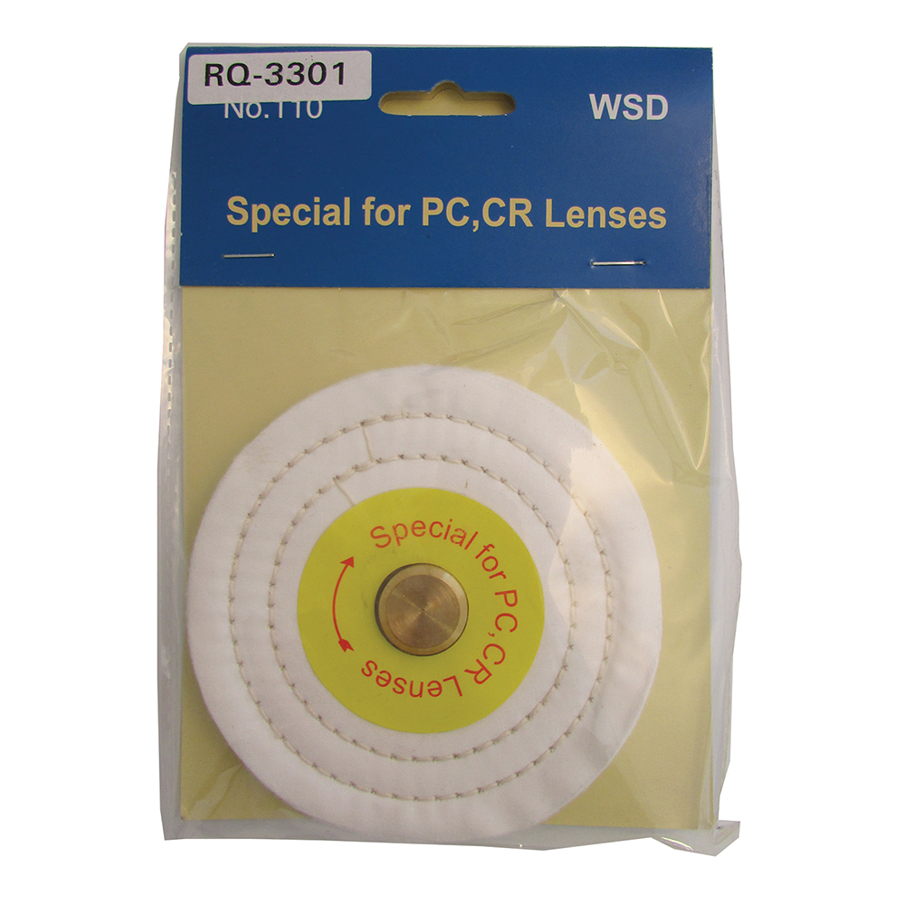 Auto Polisher by Amcon - Replacement Part: Polycarbonate Polishing Wheel (for Thin Lenses)