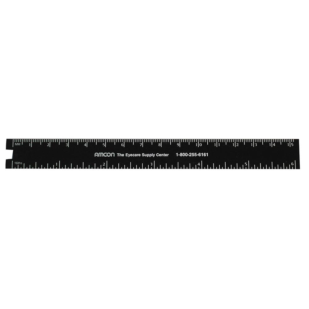 Black Ruler -6 Inch