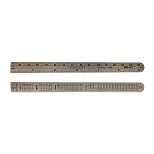 Stainless Steel PD Ruler -6 Inch
