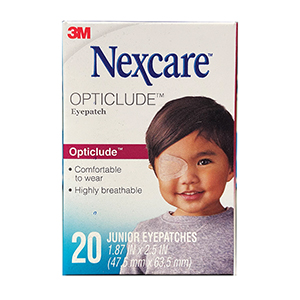 Related Product: Nexcare Opticlude Eye Patch by 3M