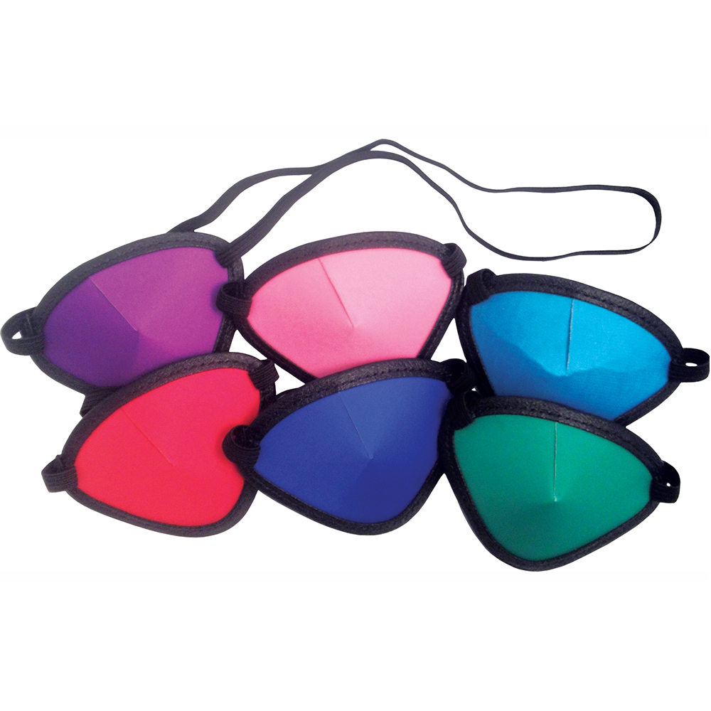 Colored Eye Patches