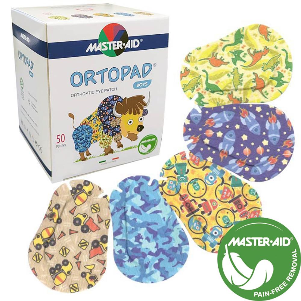 Ortopad® Adhesive Eye Patches - Boys