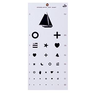 Related Product: Kindergarten Eye Chart - 20' Distance