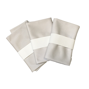 Large Grey Microfiber Cloths