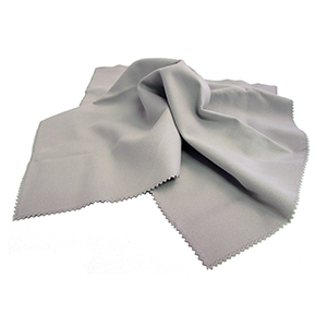 Related Product: Lab Size Standard Chamois Cloth Grey - Imprinted