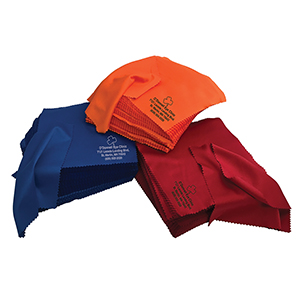 Standard Silky Microfiber Cloths - Imprinted