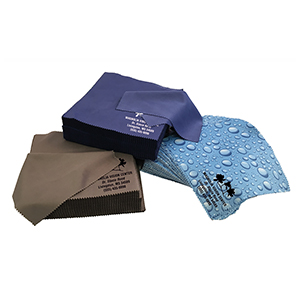 Premium Polished Microfiber Cleaning Cloth  - Imprinted in Bulk