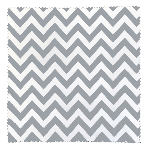 Related Product: Gray Chevron Premium Polished Microfiber Cloth - Imprinted