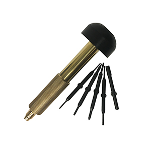 Brass Handle Screwdriver Kit -6-Piece