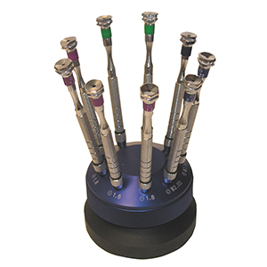 Replacement Blades for Screwdrivers in Screwdriver Carousel