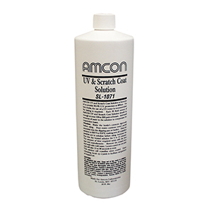 Related Product: UV and Scratch Coat Solution by Amcon