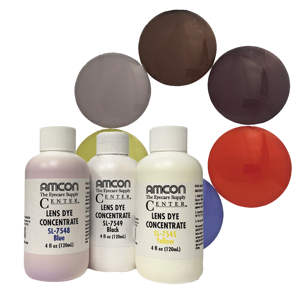 Plastic Lens Dye Concentrate by Amcon