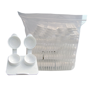 Flat Packs - SMOOTH Extra-Deep Well by Amcon - in Bags