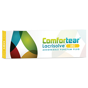 Related Product: Comfortear� Lacrisolve Sterile Medium Term Lacrimal Plugs