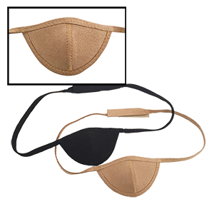 Luxurious Ultrasuede Eye Patch