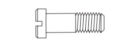 Hinge Screw SW-0107