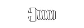 Eyewire Screw SW-0108