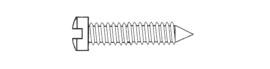 Nose Pad Screw SW-0704-Y