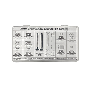 Deluxe Rimless Screw Kit