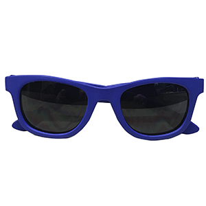 Sunglasses - Toddler - Blue Wayfarer