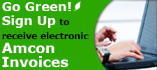 Amcon offers electronic invoices.